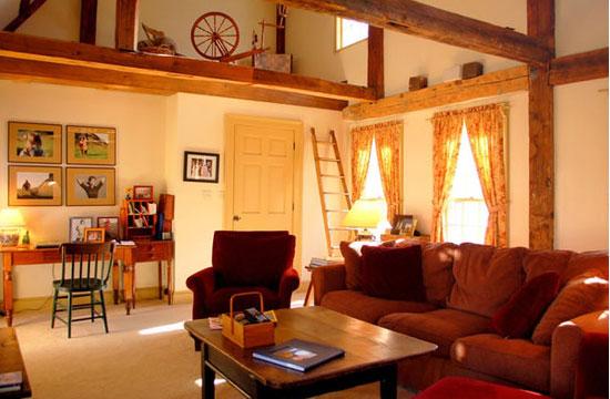 New Hampshire Interior Design - 1700s-new-england-farmhouse - Panache Interior Design
